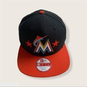 Miami Marlins Snapback Hat
